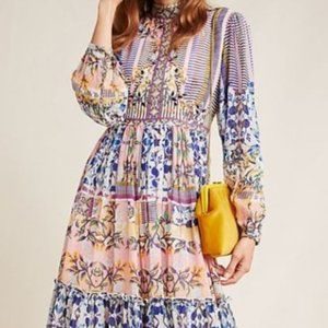 Anthropologie Anastasia Maxi Dress